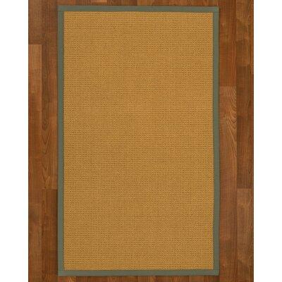 Coleridge Sisal Stone Area Rug Rug Size: 4 X 6