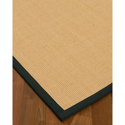 Rupendra Hand Woven Beige Area Rug Rug Size: Rectangle 9 X 12
