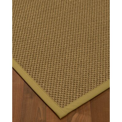 Loehr Hand Woven Brown Area Rug Rug Size: Rectangle 6 X 9