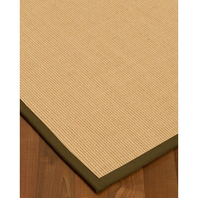 Rupendra Hand-Woven Beige Area Rug Rug Size: Rectangle 6' X 9'