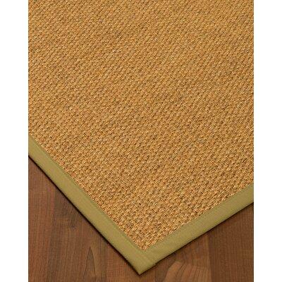 Healey Sisal Khaki Area Rug Rug Size: 5 X 8