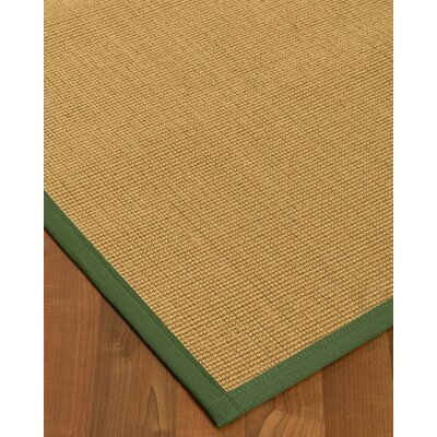 Lanie Hand-Woven Beige Area Rug Rug Size: Rectangle 9 X 12