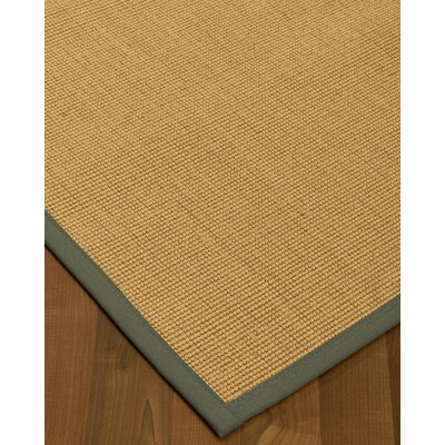 Lanie Hand-Woven Beige Area Rug Rug Size: Rectangle 6 X 9