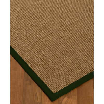 Jamesville Hand Woven Brown Area Rug Rug Size: Rectangle 9 X 12