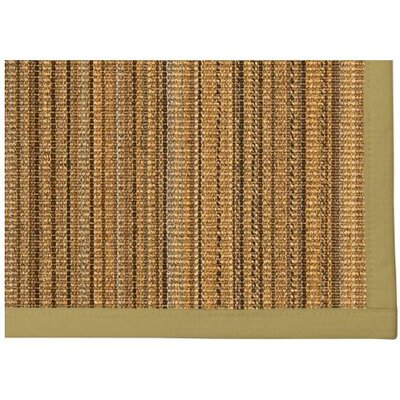 Dover Hand Woven Brown Area Rug Rug Size: Rectangle 2 X 3