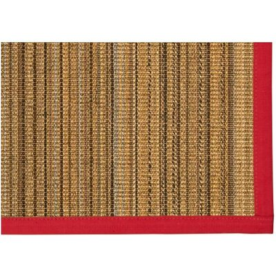 Dover Hand Woven Brown Area Rug Rug Size: Rectangle 3' X 5'