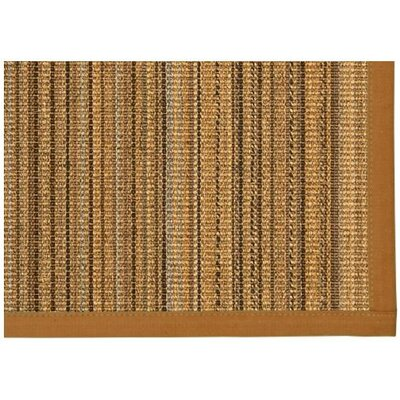 Dover Hand Woven Brown Area Rug Rug Size: Rectangle 6 X 9
