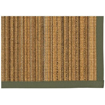Dover Hand Woven Brown Area Rug Rug Size: Runner 26 x 8