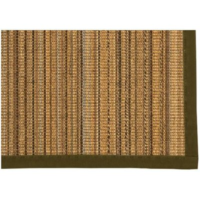 Dover Hand Woven Brown Area Rug Rug Size: Rectangle 8 X 10