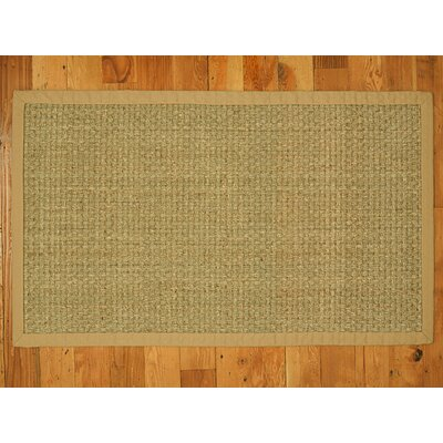 Alland Handmade Beige Area Rug Rug Size: Rectangle 9 x 12