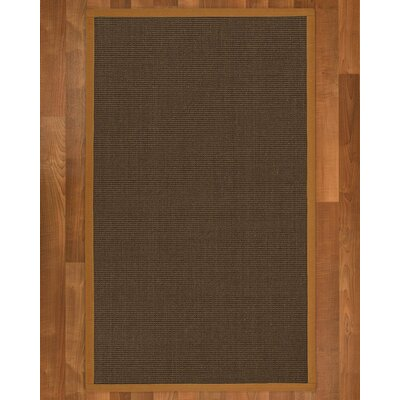 Beck Contemporary Hand Woven Brown Area Rug Rug Size: Rectangle 6 X 9