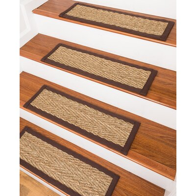 LaKendra Beach Seagrass Beige Stair Treads