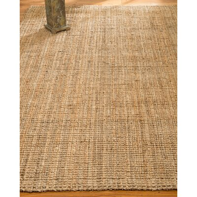 Calvin Hand-Woven Beige Area Rug Rug Size: Rectangle 4 x 6