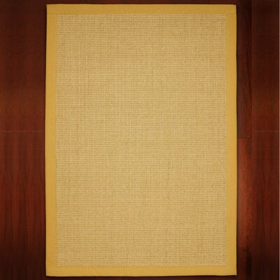 Aconcagua Handmade Beige Area Rug Rug Size: Rectangle 4 x 6