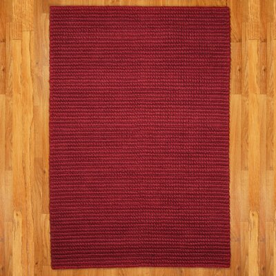 Red Hamilton Rug Rug Size: Rectangle 8 x 10