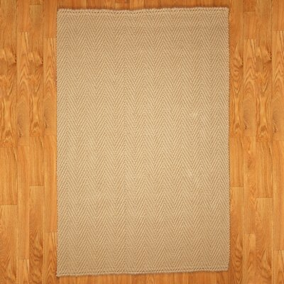 Castello Natural Area Rug Rug Size: Rectangle 6 x 9