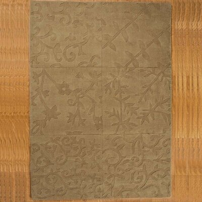 Light Tan Napoli Rug Rug Size: Rectangle 4 x 6