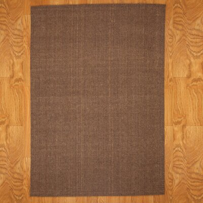 Earth Brown Area Rug Rug Size: Rectangle 8 x 10