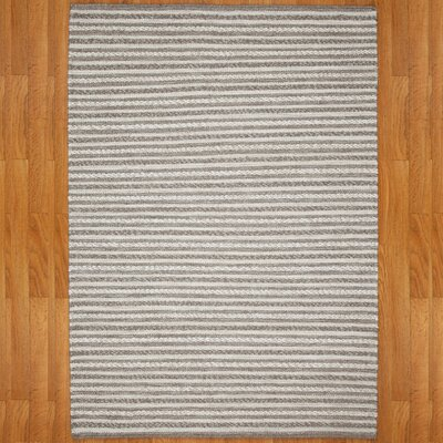 Concepts Hand-Woven Gray Area Rug Rug Size: Rectangle 8 x 10