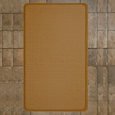 Mastro Solid Kitchen Mat Color: Tan