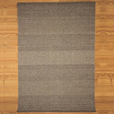 Grey Avalon Black/Gray Plaid Area Rug Rug Size: 9 x 12