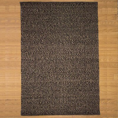 Brown Belcourt Area Rug Rug Size: 9 x 12