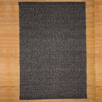 Black/Gray Bordeaux Area Rug Rug Size: Rectangle 8' x 10'