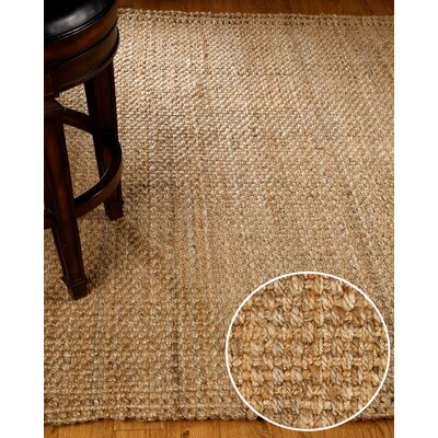Castillian Hand Woven Brown/Tan Area Rug Rug Size: 5' x 8'