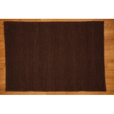 Chocolate Hamilton Area Rug Rug Size: Rectangle 8 x 10