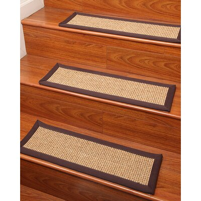 Sisal Casual Living Stair Treads Rug Size: 9 x 29