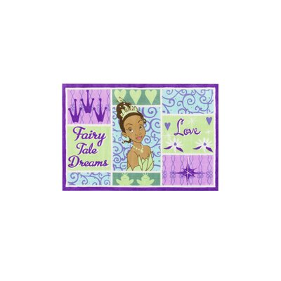 Princess Tiana Patchwork Area Rug