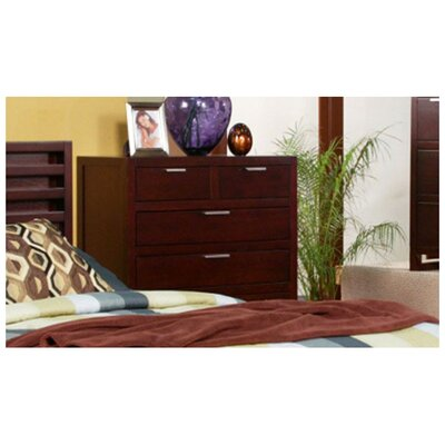 Amaryllis 6 Drawer Tall Boy Chest