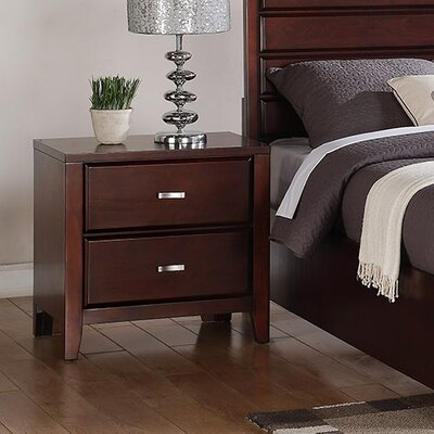 Acropolis 2 Drawer Nightstand