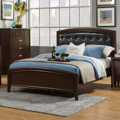 Wanda Upholstered Panel Bed