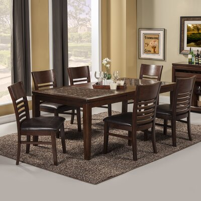 Cici 7 Piece Dining Set