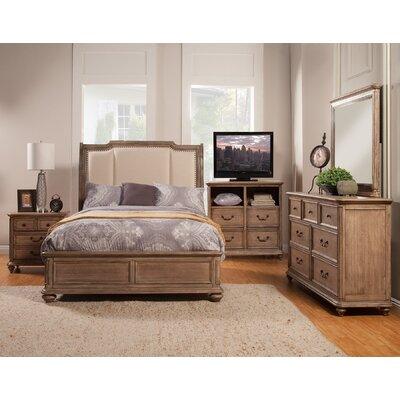 Heimbach Upholstered Panel Bed