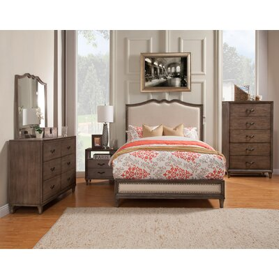 Oriane Upholstered Panel Bed
