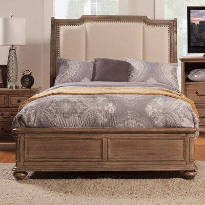 Melbourne Upholstered Panel Bed Size: California King