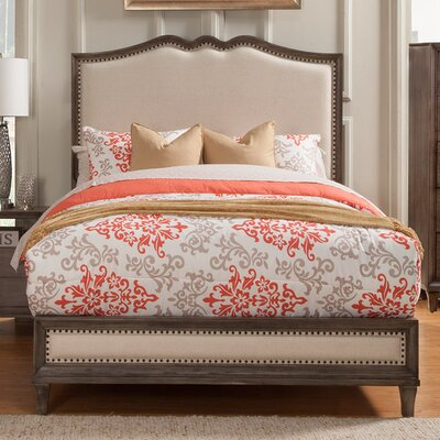Charleston Upholstered Panel Bed Size: Queen