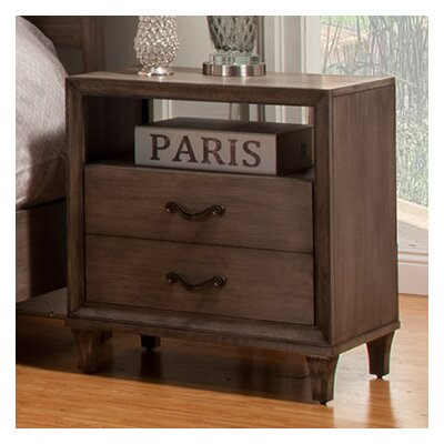 Oriane 1 Drawer Nightstand