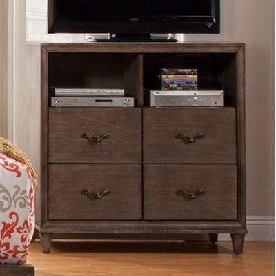 Oriane 4 Drawer Media Chest