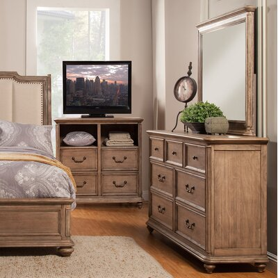 Melbourne 7 Drawer Dresser with Mirror
