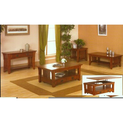 Buy Low Price Alpine Furniture Mission Mission Style Lift Top Coffee