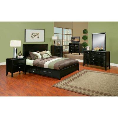 King Bedroom Furniture on Alpine Furniture Laguna Eastern King Storage Bedroom Set