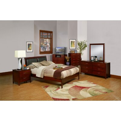 Leeloo Platform Customizable Bedroom Set