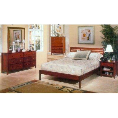 Queen Bedroom Furniture on Alpine Furniture Portola Queen Platform Bedroom Set In