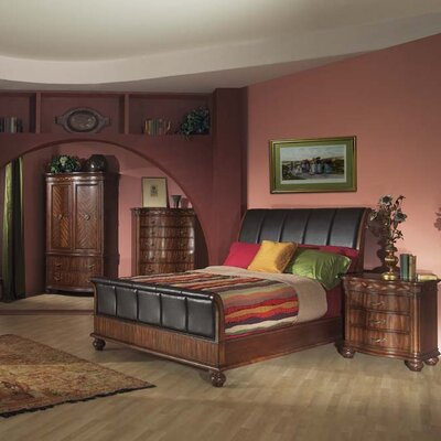 Credit for Lafayette Queen Sleigh Bed...