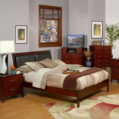 Sara Upholstered Platform Bed