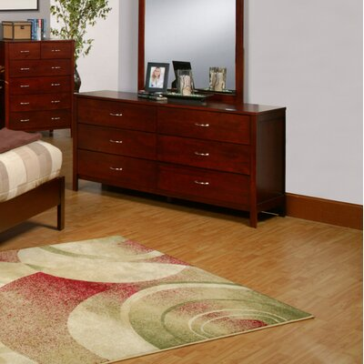 No credit financing Newport 6 Drawer Dresser...