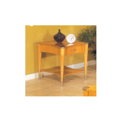 Sausalito End Table Finish: A Natural Finish